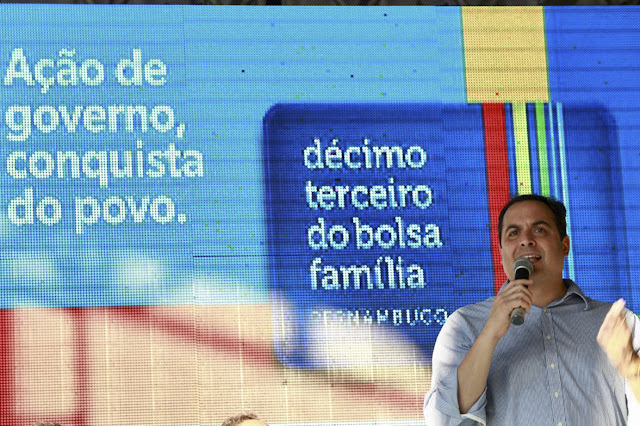 Paulo Câmara inaugura Expresso Cidadão e participa de nova caravana do 13º do Bolsa Família