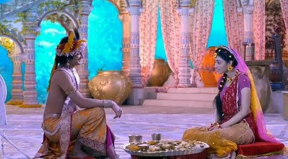 Radha krishana serial : 8 feb in hindi
