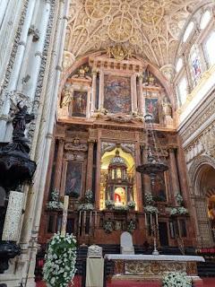 La Mezquita Catedral de Córdoba.