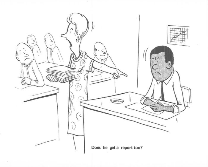 Brutally Honest Comics Drawn By Black Guy Depict What It Was Like Being The One Black Man In A White Work Environment In The 1960s