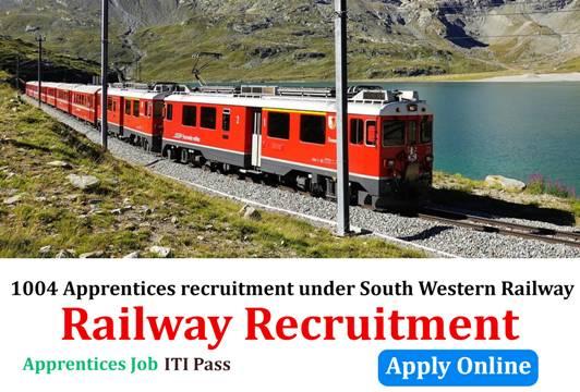 1004 Apprentices recruitment under South Western Railway