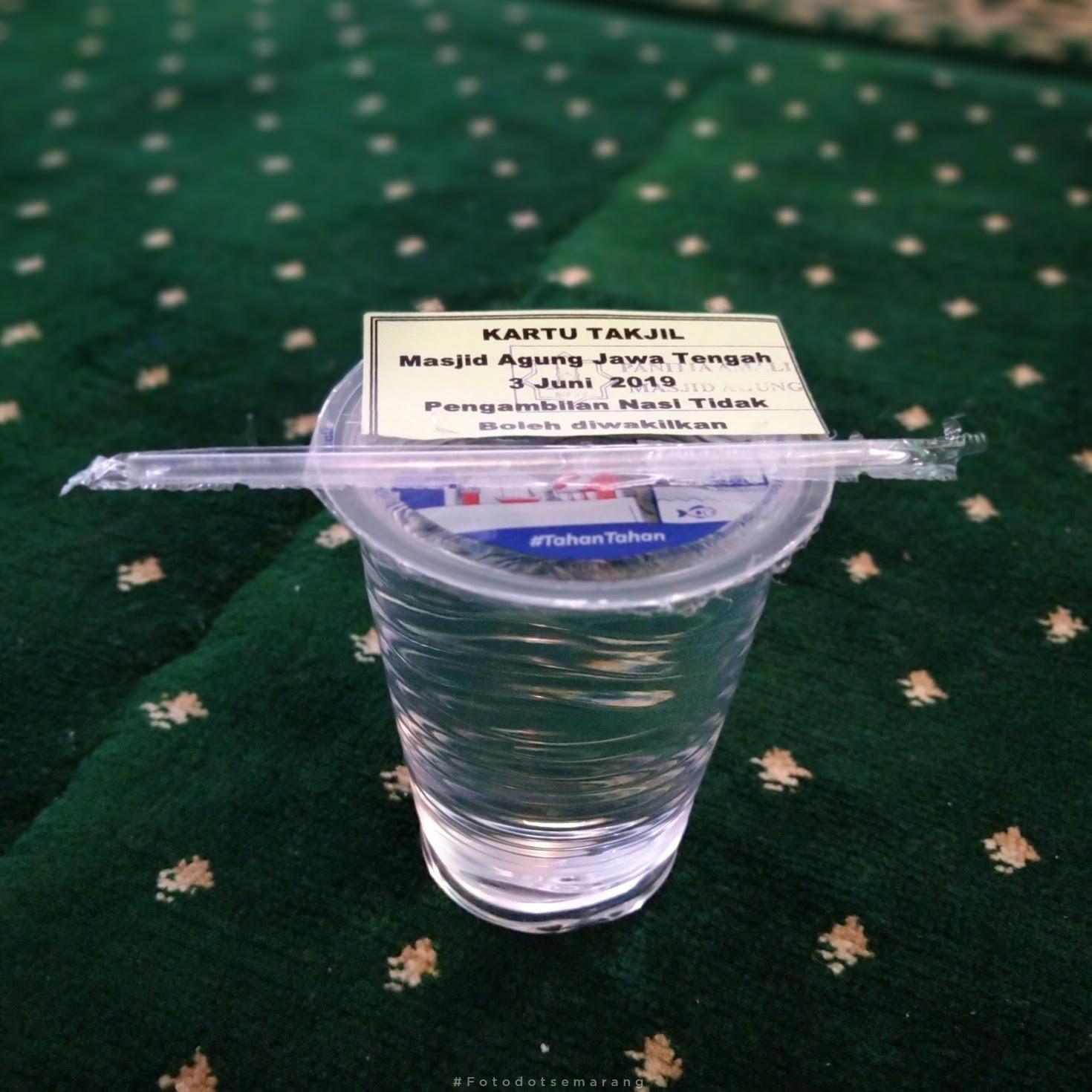 Buka Puasa di Masjid Agung Jawa Tengah, Jangan Lupa Ambil Kupon Dulu
