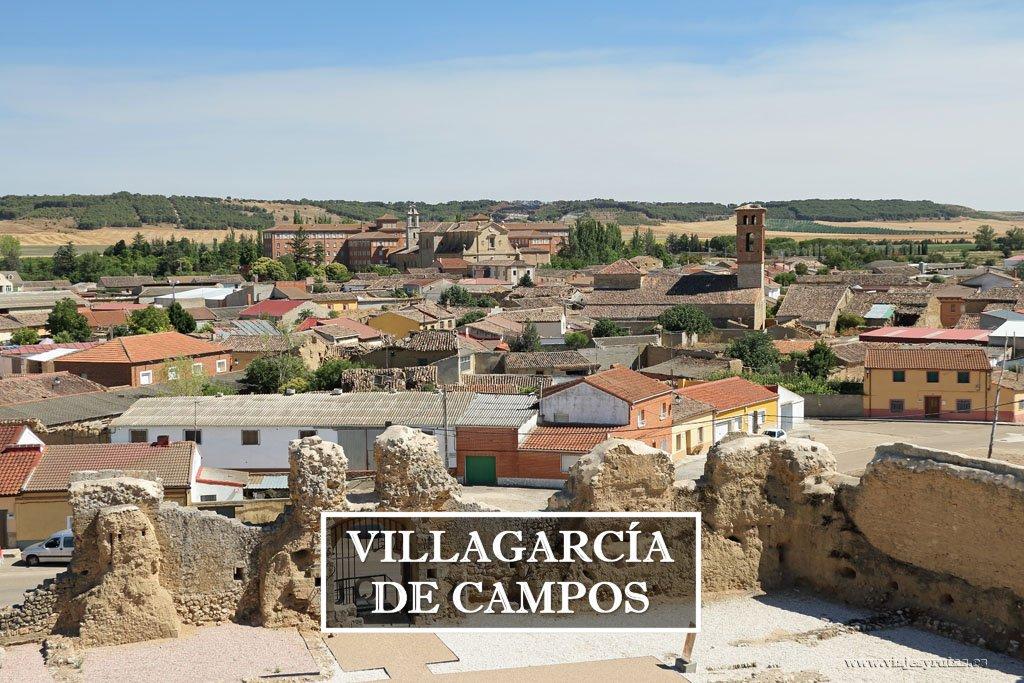 Villagarcía de Campos, su castillo y la Colegiata de San Luis