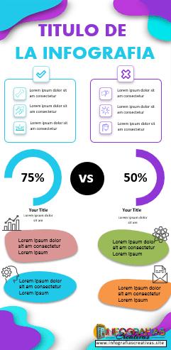 Plantilla de infografía en PowerPoint modelo 9