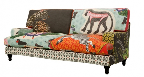 gafunkyfarmhouse: picture parade: colorfully wild and wacky sofas, Möbel