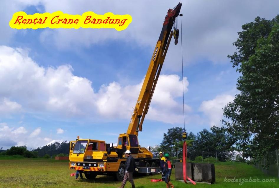 Tempat Rental Crane di Bandung