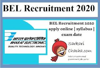 bel-recruitment-jobs-2020