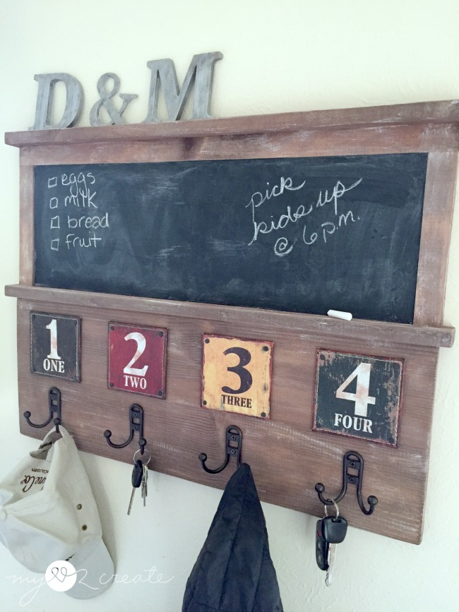 Chalkboard Coat Rack Styled X40 My Love 40 Create Simple Chalkboard Coat Rack