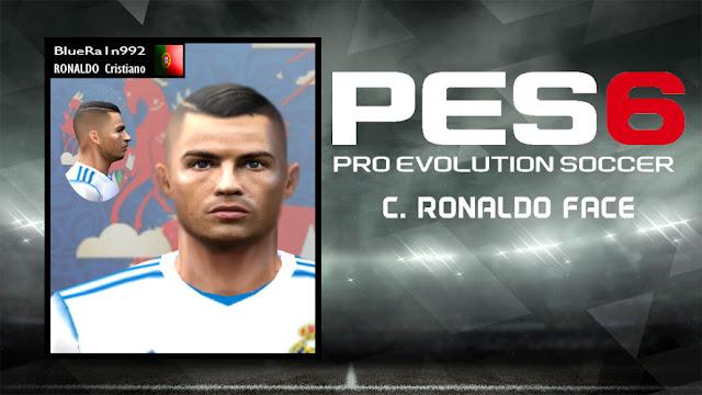 PES 6 C  Ronaldo (Real Madrid) 2018/19 New Face - Micano4u | PES