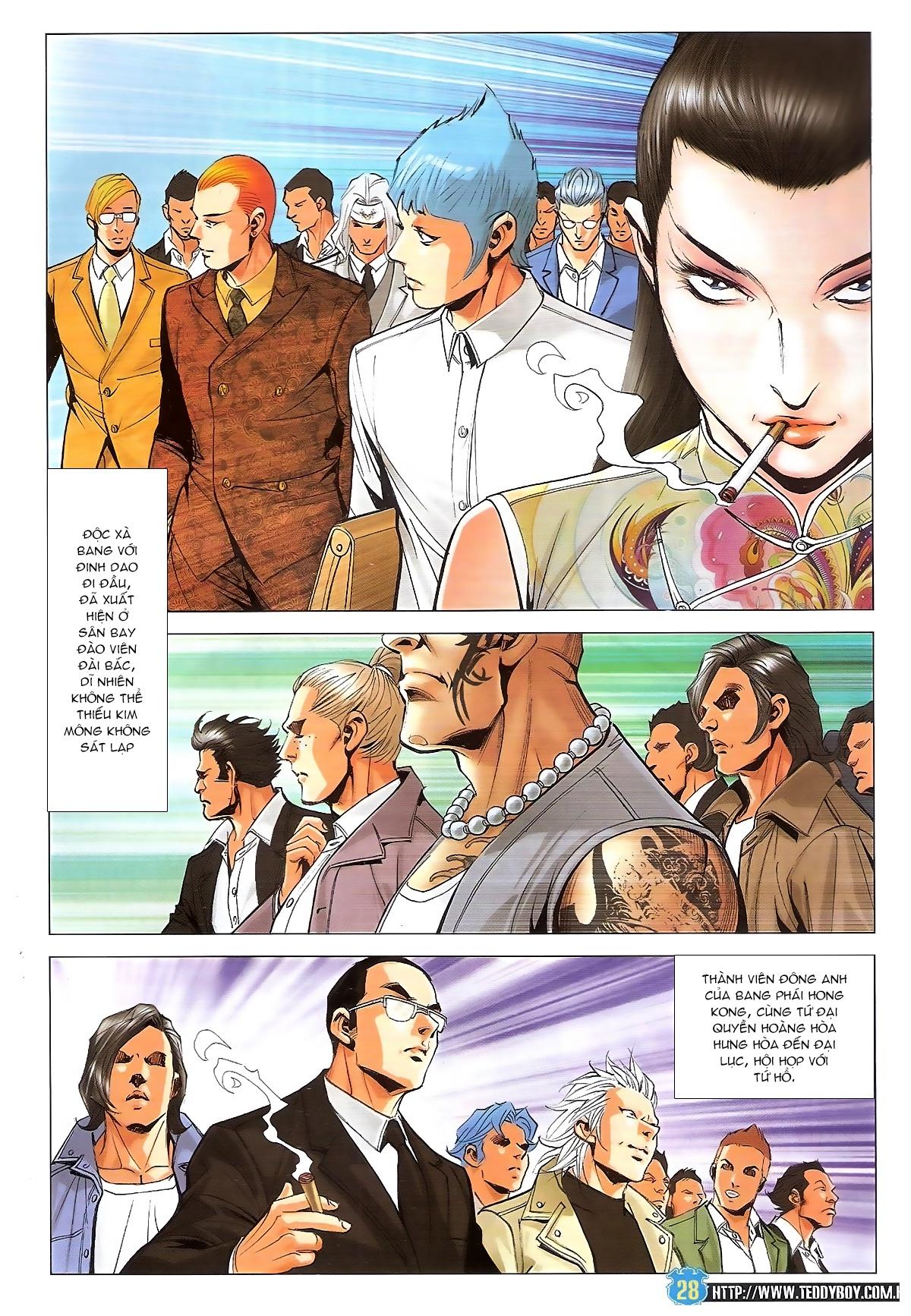 Người Trong Giang Hồ chapter 1826: xuất phát trang 27