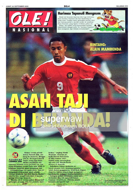USTON NAWAWI INDONESIA KE BELANDA