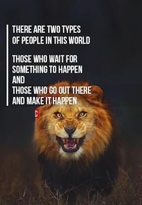 Lion Training Quotes