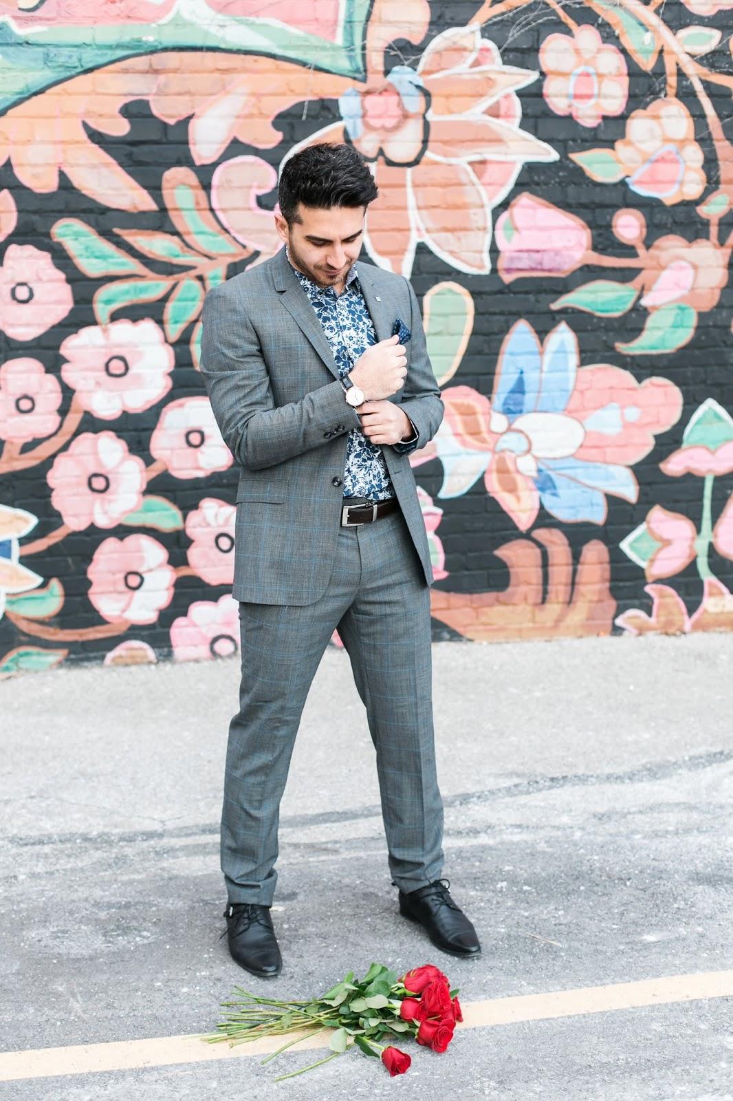 Bijuleni - Ted Baker men's grey suit