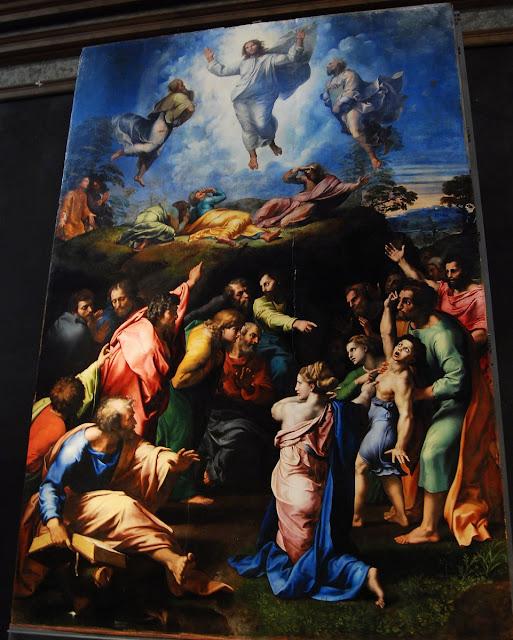 la transfiguration, Raphaël