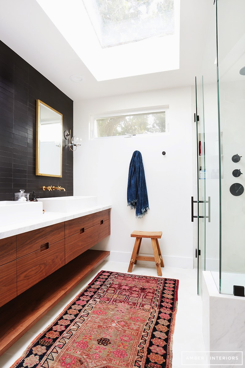 Mid Century Modern Bathroom Design
