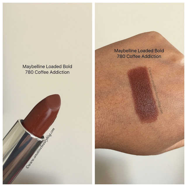 Maybelline Loaded Bold Coffee Addiction Swatch