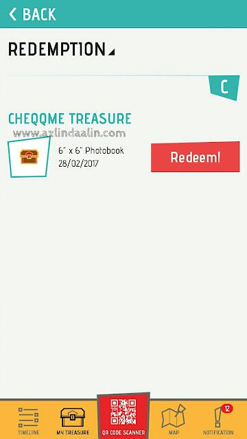 Muat Turun Aplikasi CheQQme dan Dapat PERCUMA Photobook Bersaiz 6x6