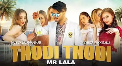 THODI THODI Lyrics - Mr. Lala | Vikk Rana