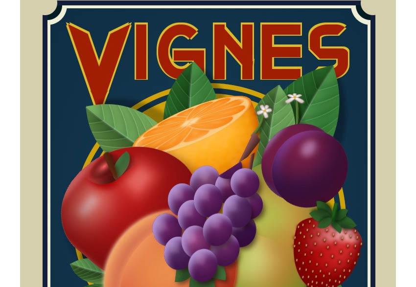 Vignes CSS Paintings Design