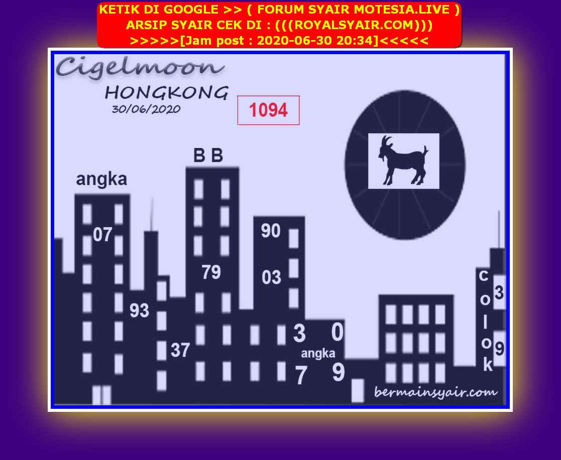 Kode syair Hongkong Selasa 30 Juni 2020 146