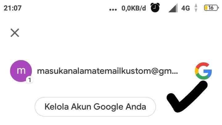 Cara bikin akun Gmail