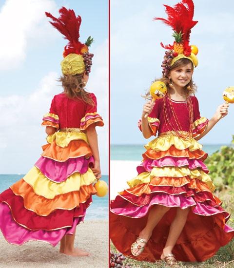 disfraz niña carnaval