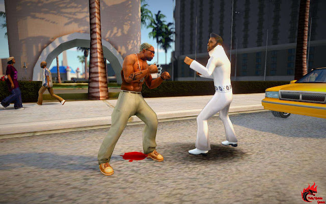 GTA San Andreas Improved Combat System v4.5 For Pc