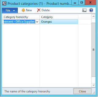 Screenshot of adding the Category hierarchy and the Category to see associated Product attributes.