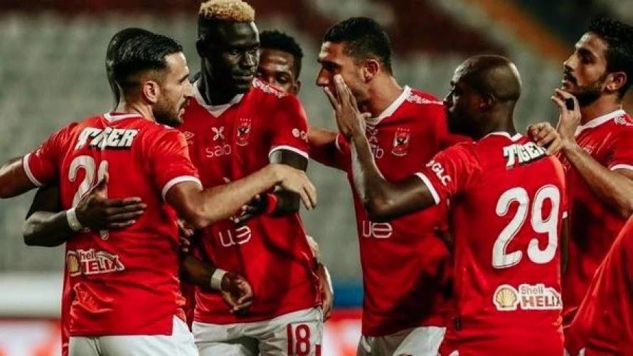 ملخص مباراة النادي الأهلي وأبو قير في كأس مصر بالأهداف