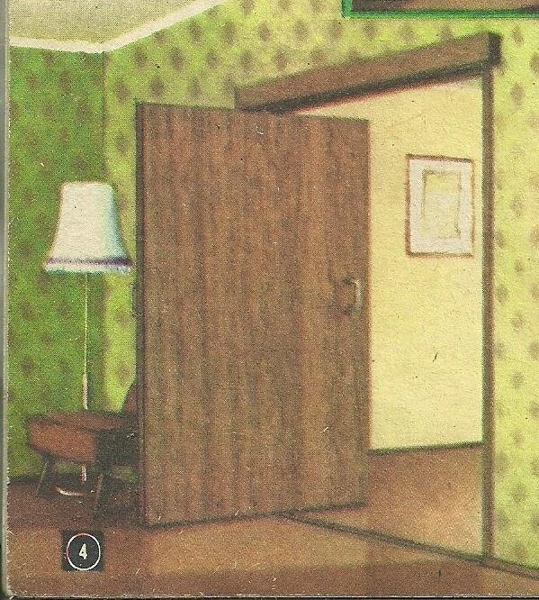 Так выглядит поворотная дверь, сделанная своими руками