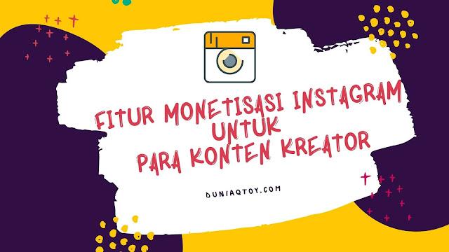 fitur monetisasi instagram