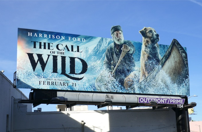 Call of the Wild extension cut-out billboard