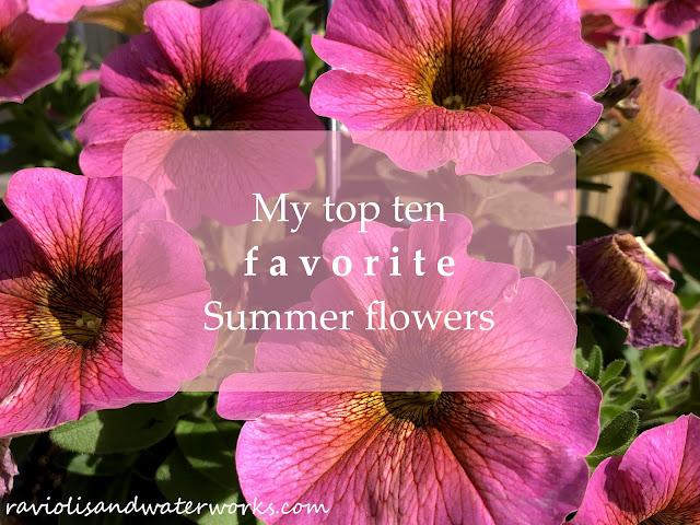 top ten summer flowers
