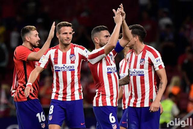 تشكيل أتليتيكو مدريد ضد يوفنتوس عبر سوفت سلاش