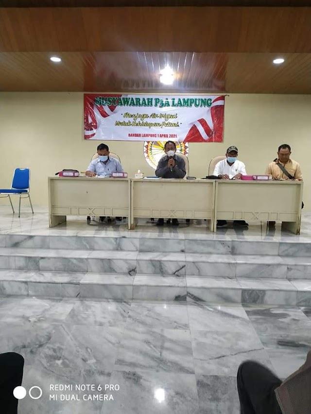 Mingrum Gumay Janji Sejahterakan Anggota P3A