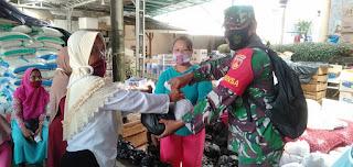 Bantu Penyaluran Sembako dari Dinas Sosial Kepada Program Keluarga Harapan