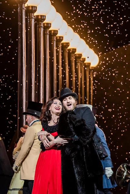 Puccini: La Bohème - Aida Garifullina, Andrzej Filonczyk - Royal Opera ((C) ROH 2020. Photo by Tristram Kenton)