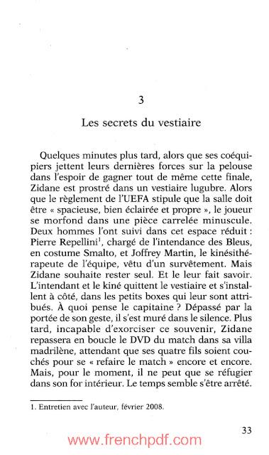 Zidane: une vie secrète par Besma Lahouri PDF Gratuit