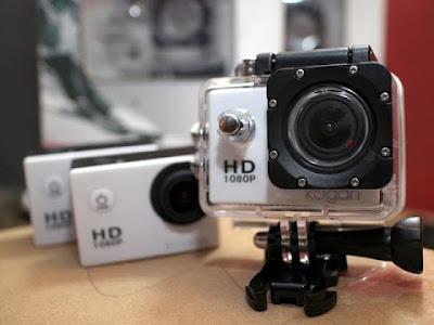 Spesifikasi  Action Kamera Kogan