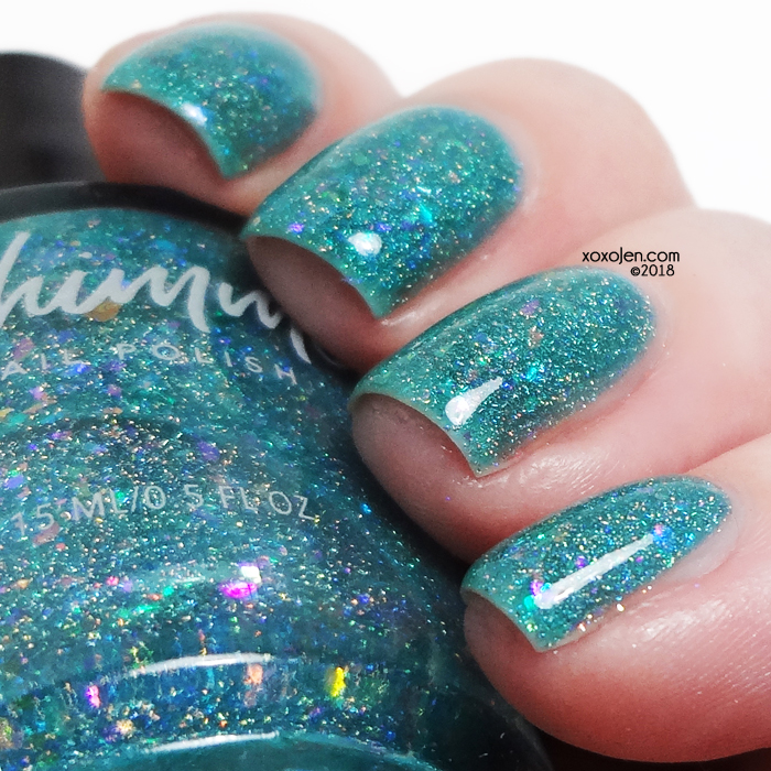 xoxoJen's swatch of kbshimmer Hubble'd Together