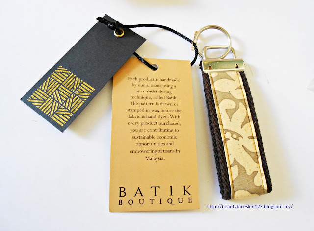 The Batik Boutique pretty keyfob