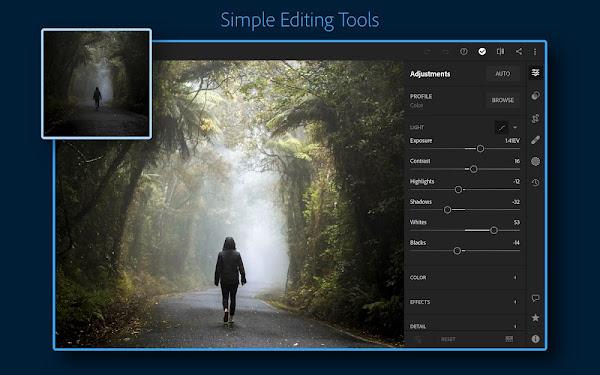Adobe Lightroom CC (MOD, Premium Unlocked)