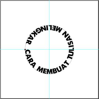 Cara Membuat Tulisan Melingkar di Photoshop