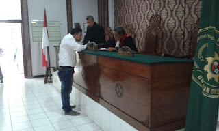 Penambang Pasir Ilegal DiHadapkan Ke Meja Pengadilan Negeri Bojonegoro