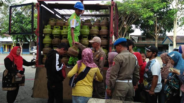 Pemkab - Distributor LPG Gelar Operasi Pasar