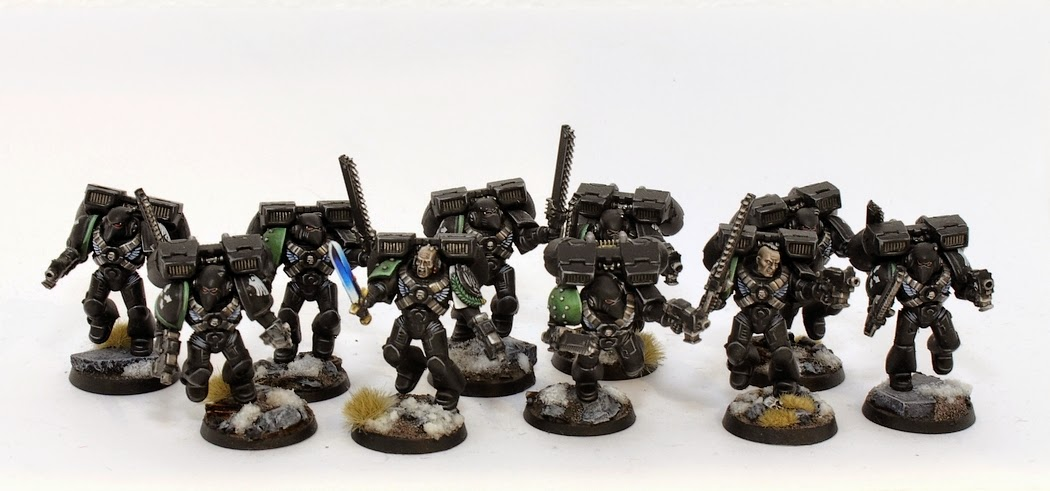Showcase: Raven Guard Assault Squad - Tale of Painters