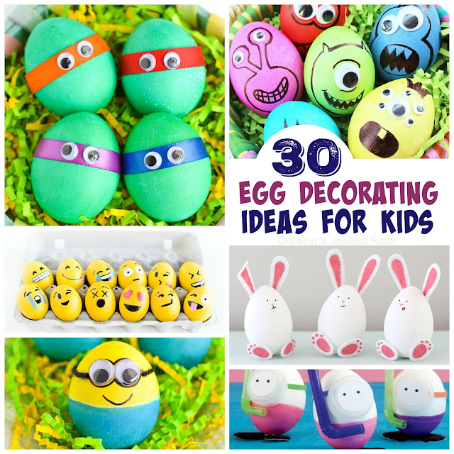 Toddler Egg Decorating Ideas