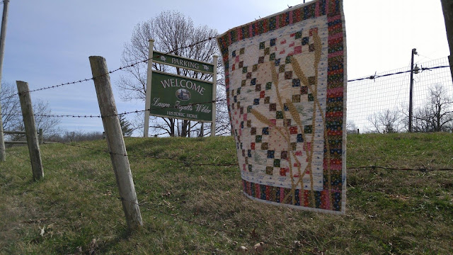 Little House on the Prairie quilt