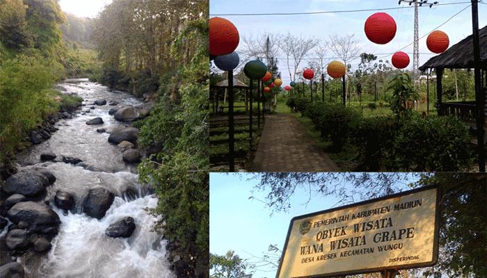 wisata taman sungai grape