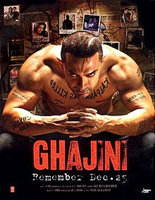 Download Ghajini (2008) Full Movie DVDRip 720p